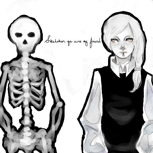 gambar tengkorak - skeleton image (3)