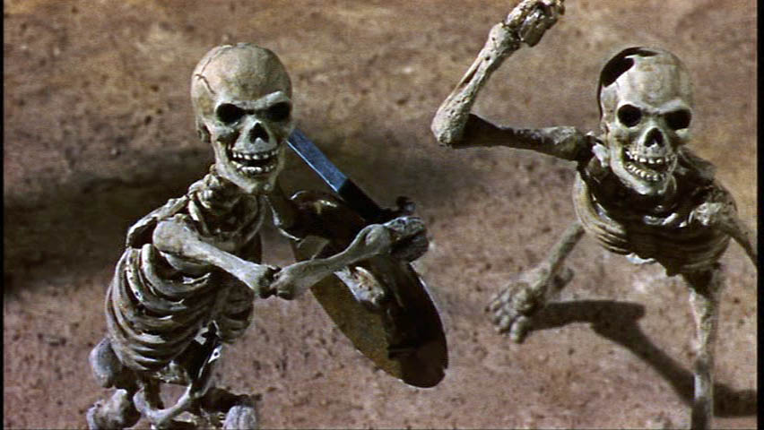 Jason and the Argonauts Skeletons